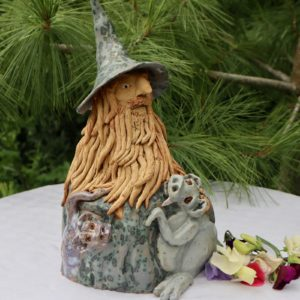 Ceramic wizard